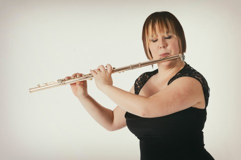 Retrato flautista