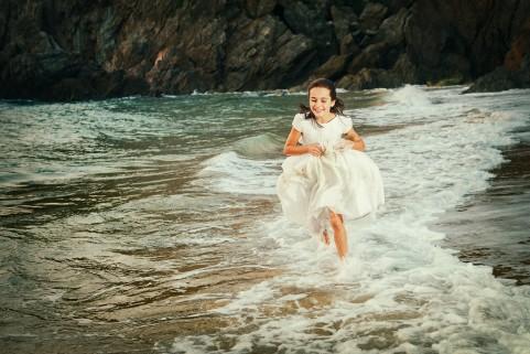 Corriendo por el agua